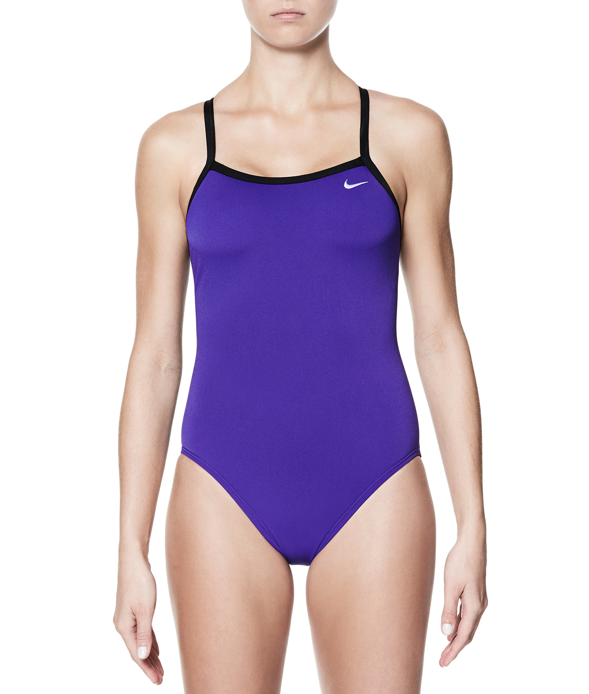 Nike Swim Nylon Solid Racerback One Piece swimsuit - Court Purple
