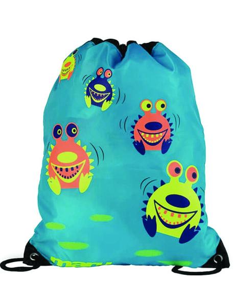 Maru Spikey Sea Monster Bag - Blue