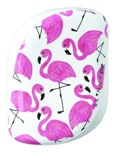 Tangle Teezer Skinny Dip Flamingo Print Compact Styler