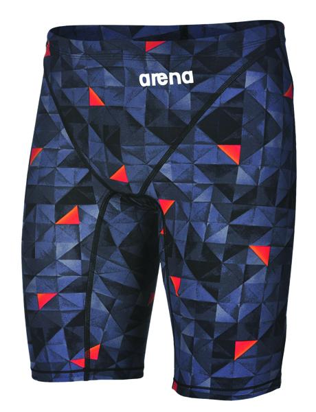 Arena Mens Limited Edition Powerskin 2.0 Jammers - Black/Orange