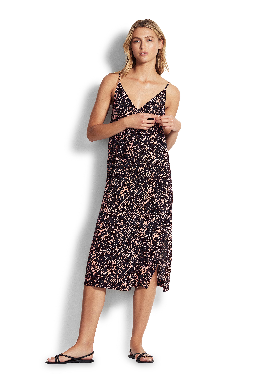 Seafolly Ladies Safari Spot Slip Dress