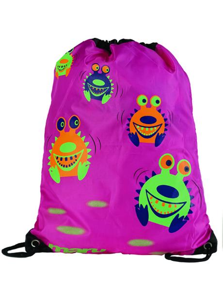 Maru Spikey Sea Monster Bag - Pink