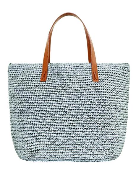 Seafolly Carried Away Beach Bag - Silver