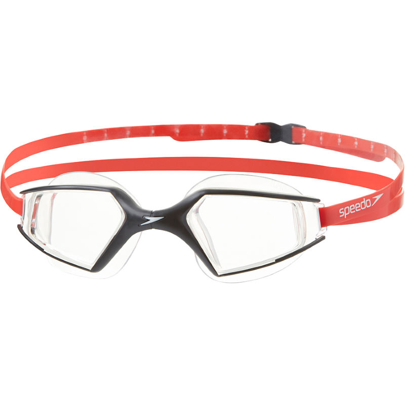 Speedo Aquapluse Max 2 Swimming Goggles - red