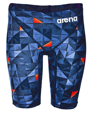 Arena Junior Boys Limited Edition Powerskin ST 2.0 Jammer - Turquoise/Orange
