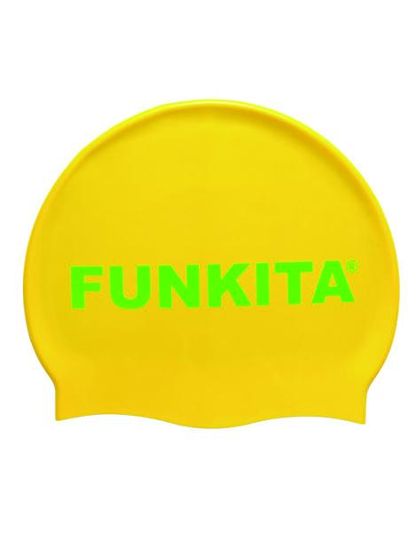 Funkita Gold Swim Cap