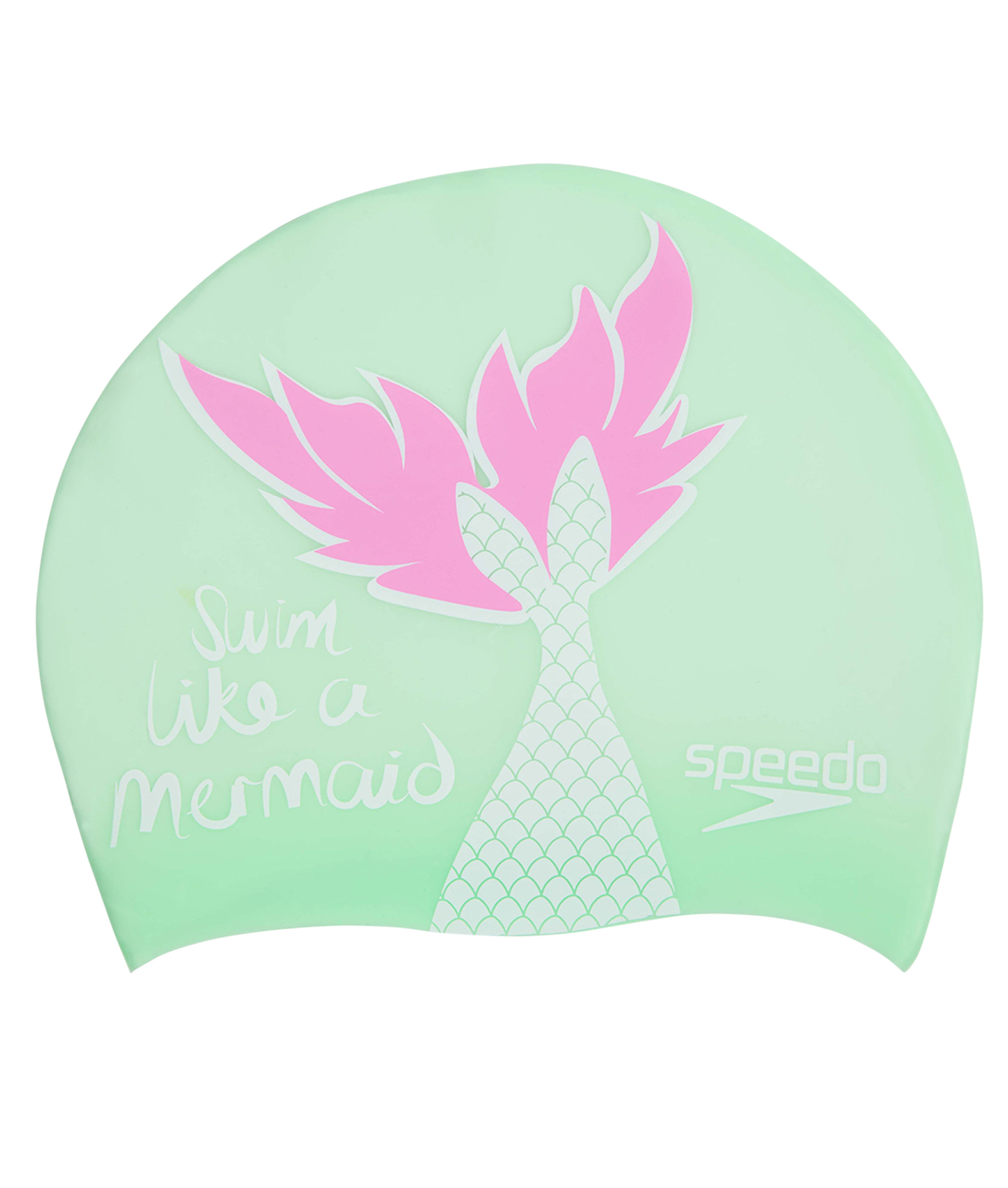 Speedo Junior Mermaid Junior Slogan Cap