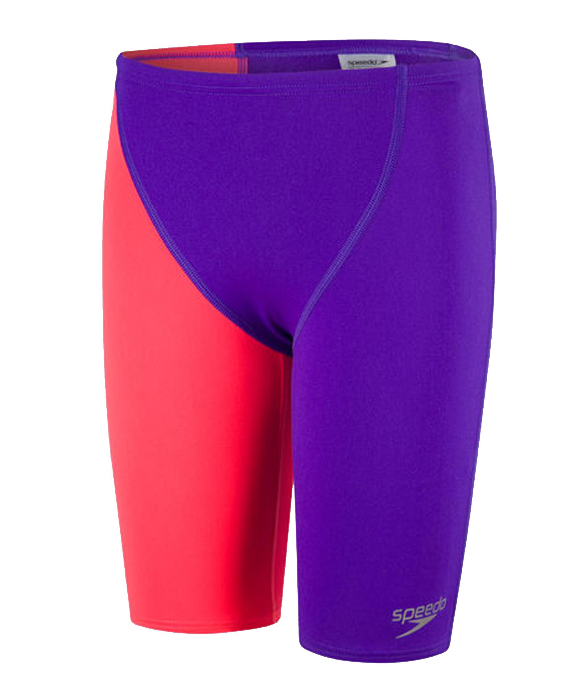 Speedo Junior Fastskin Endurance+ High Waisted Jammer - Purple/Red (32)