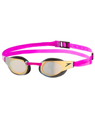 Speedo Fastskin Elite Mirror Goggles - Gold/Purple