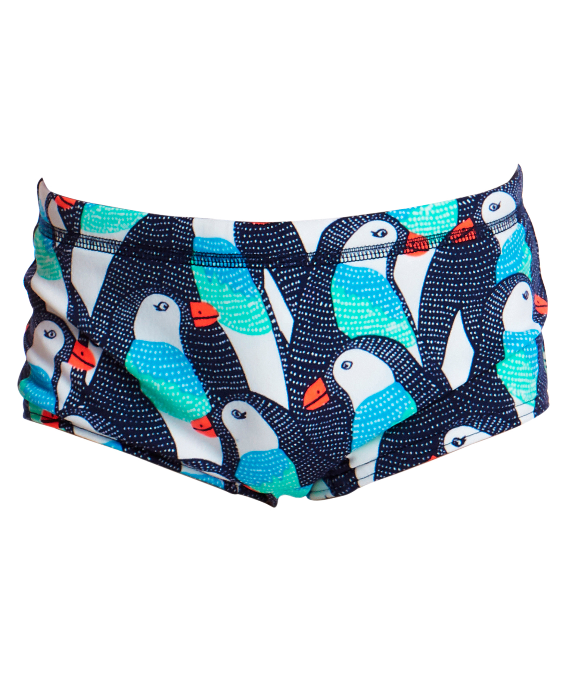 Funky Trunks Toddler Boys Pengoo Parade Trunks
