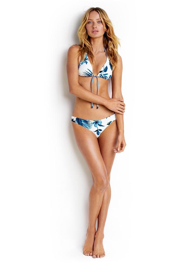 Seafolly Tropic Coast Reversible Slide Triangle Bikini Top (SALE Non-Refundable)