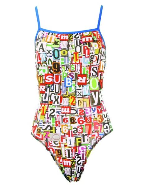 Maru Ladies Alphabet Pacer Splish Back