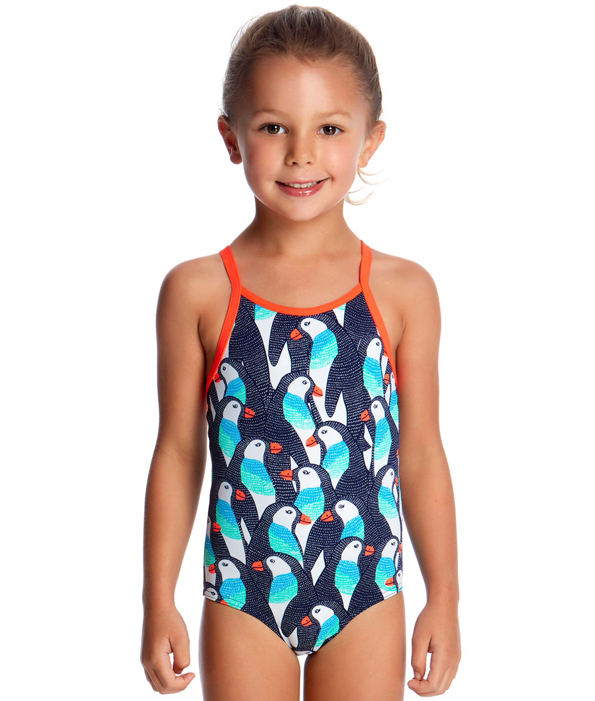 Funkita Toddler Girl Pengoo Parade One Piece