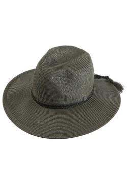 Seafolly Shady Lady Collapsible Fedora Gold