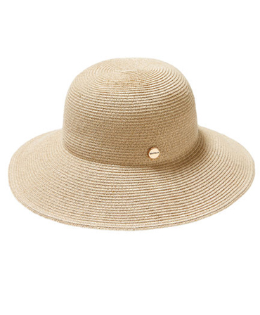 Seafolly Shady Lady Newport Fedora Hat - Gold