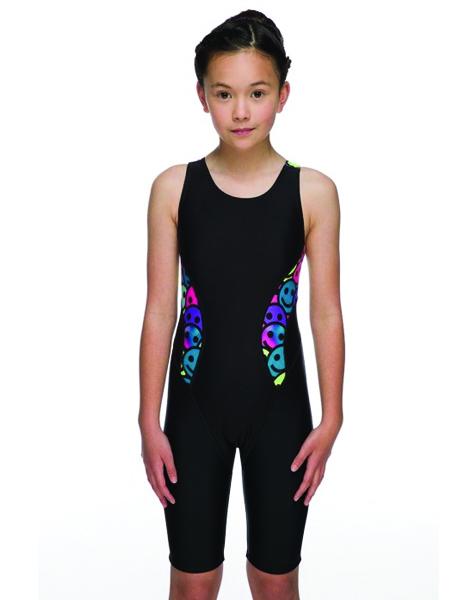 Maru Girls Smiler Sparkle Panel Leg Suit