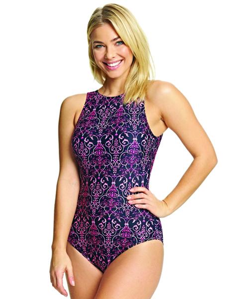 Zoggs Ladies Renaissance Hi Front Swimsuit