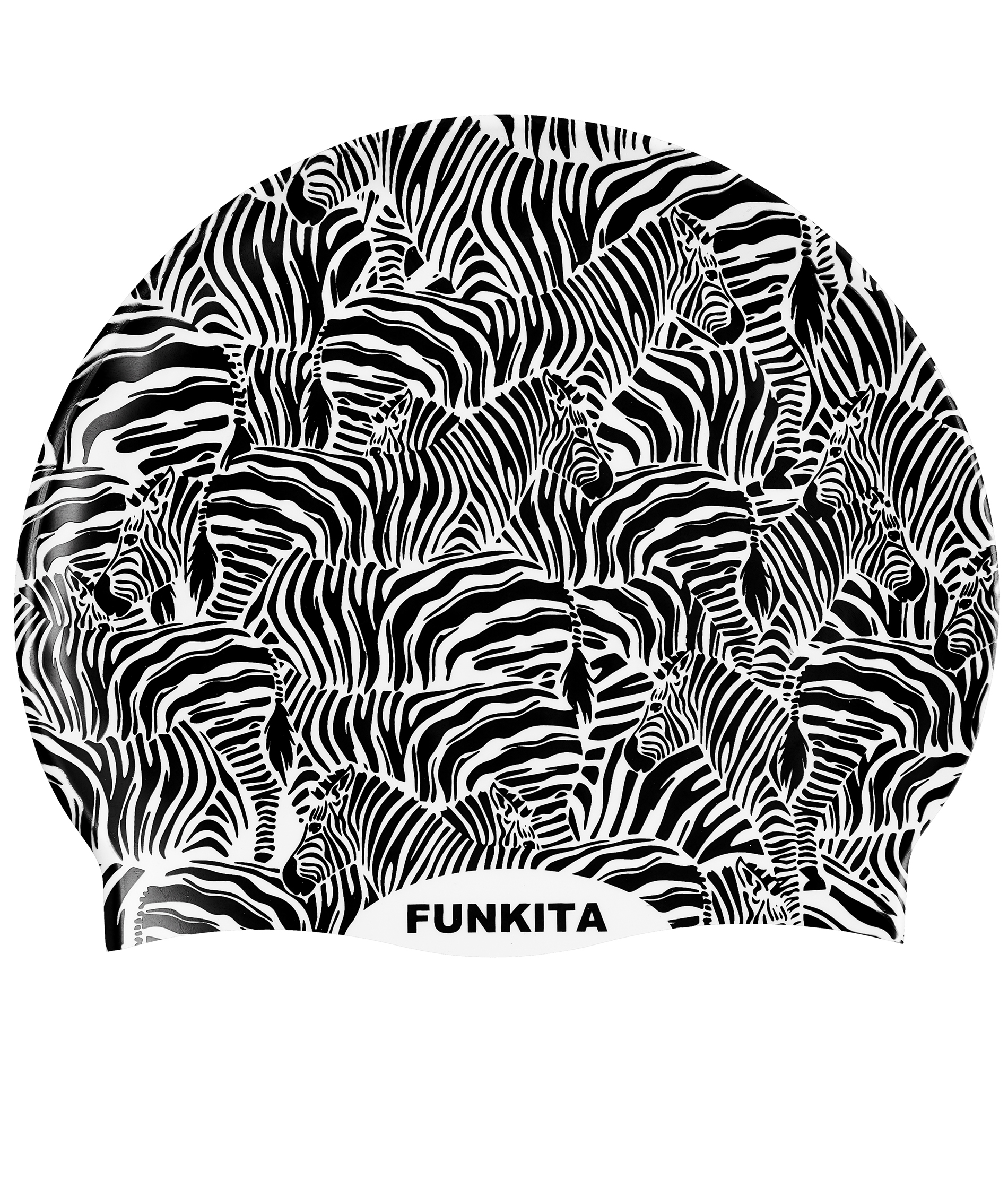 Funkita Zebra Crossing Swim Cap