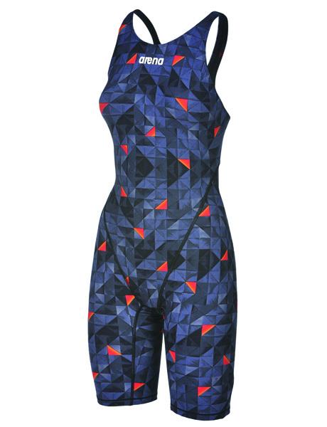 Arena Womens Limited Edition Powerskin ST 2.0 Knee Skin - Black/Orange
