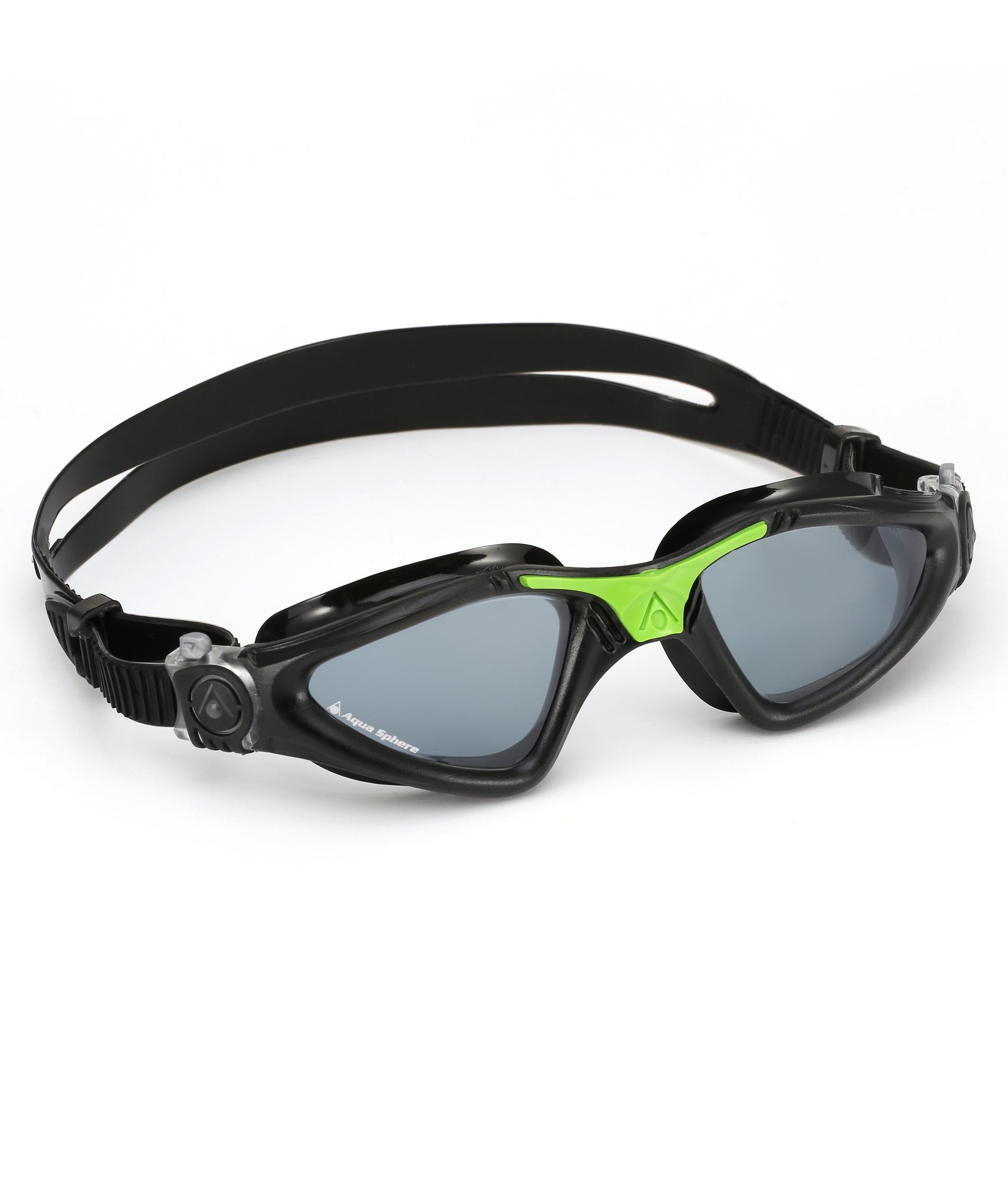 Aqua Sphere Kayenne Goggles - Black/Green