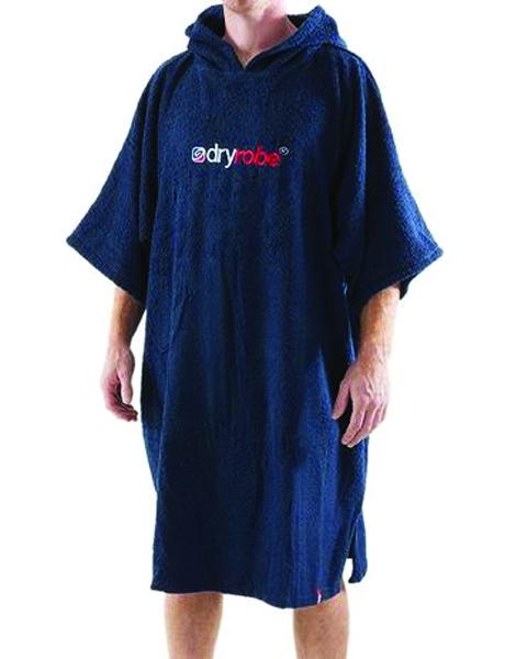 Dryrobe Short Sleeve Towel Navy Blue - Large