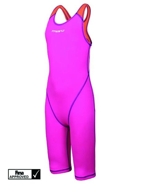 Maru Girls XT3 Junior Pro Legs - Pink/Orange