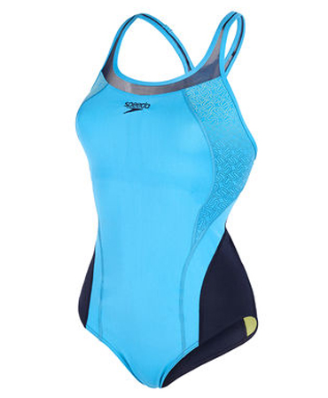 Speedo Fit Ladies Pinnacle Kickback Swimsuit - More colour options