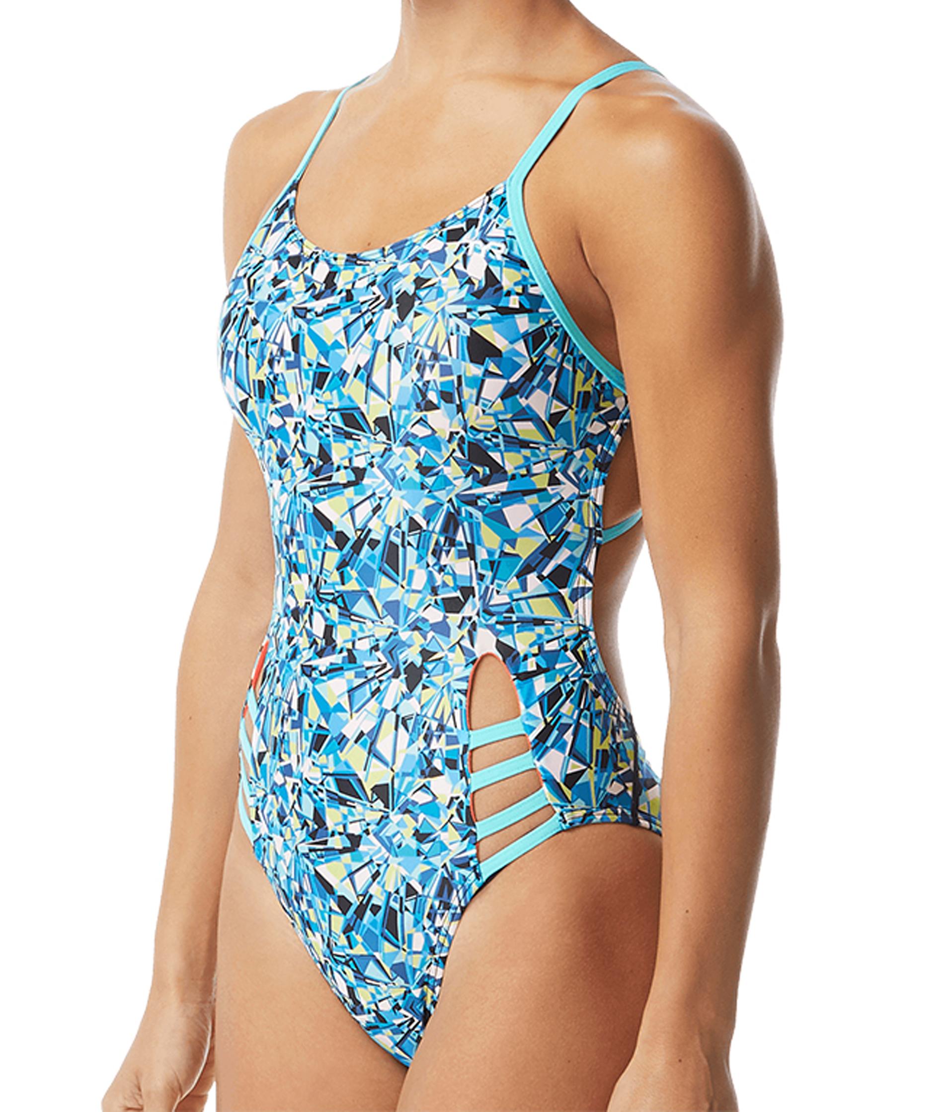 TYR Womens Fragment Tetrafit Swimsuit