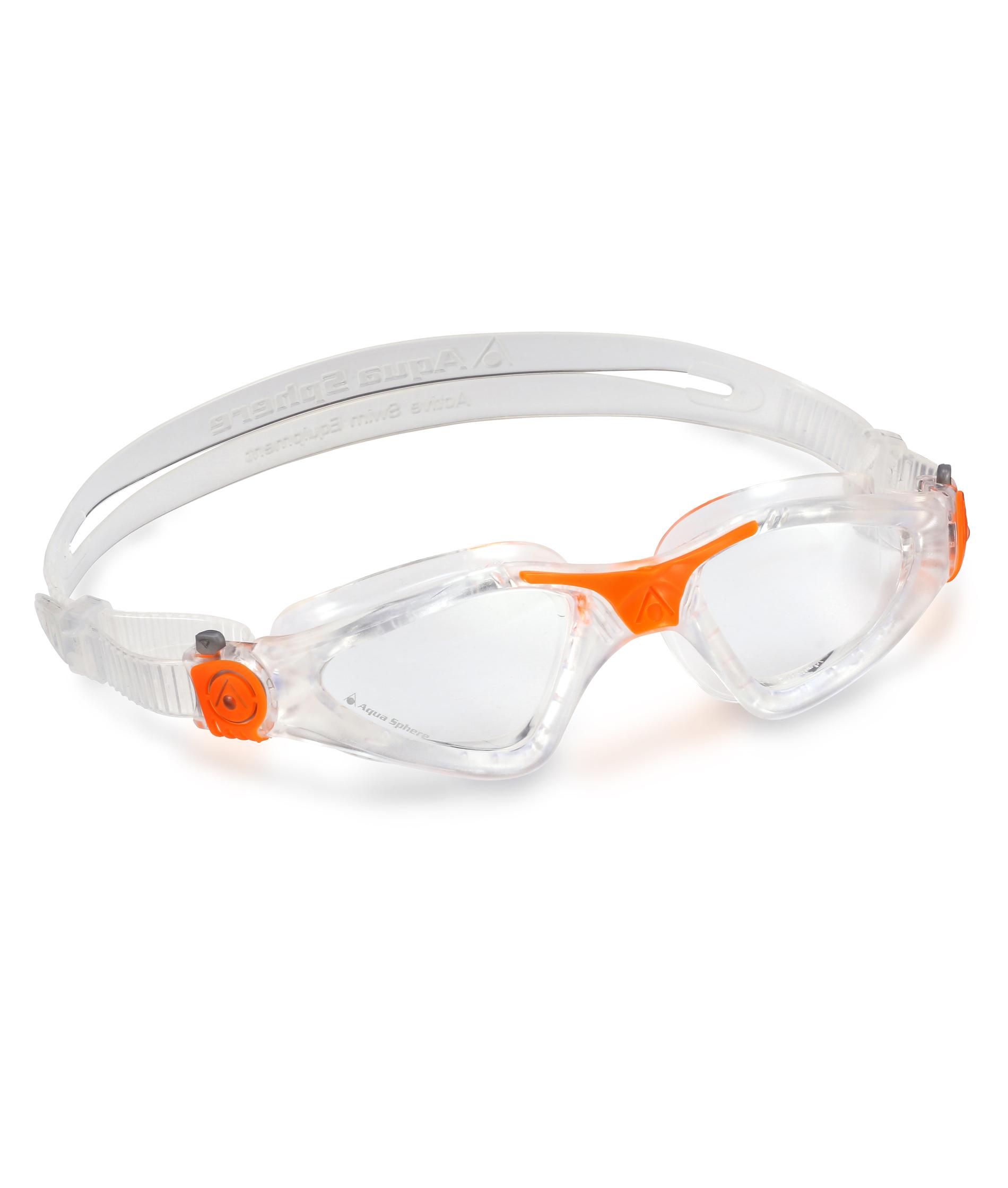 Aqua Sphere Kayenne Goggles - Clear/Orange
