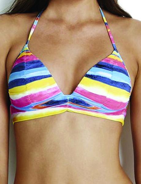 Seafolly Blue Coast Fixed Tri Bikini Top