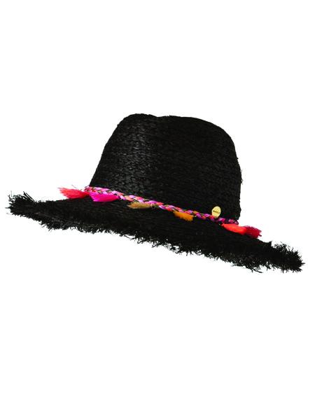 Seafolly Shady Lady Two Tone Fedora Hat