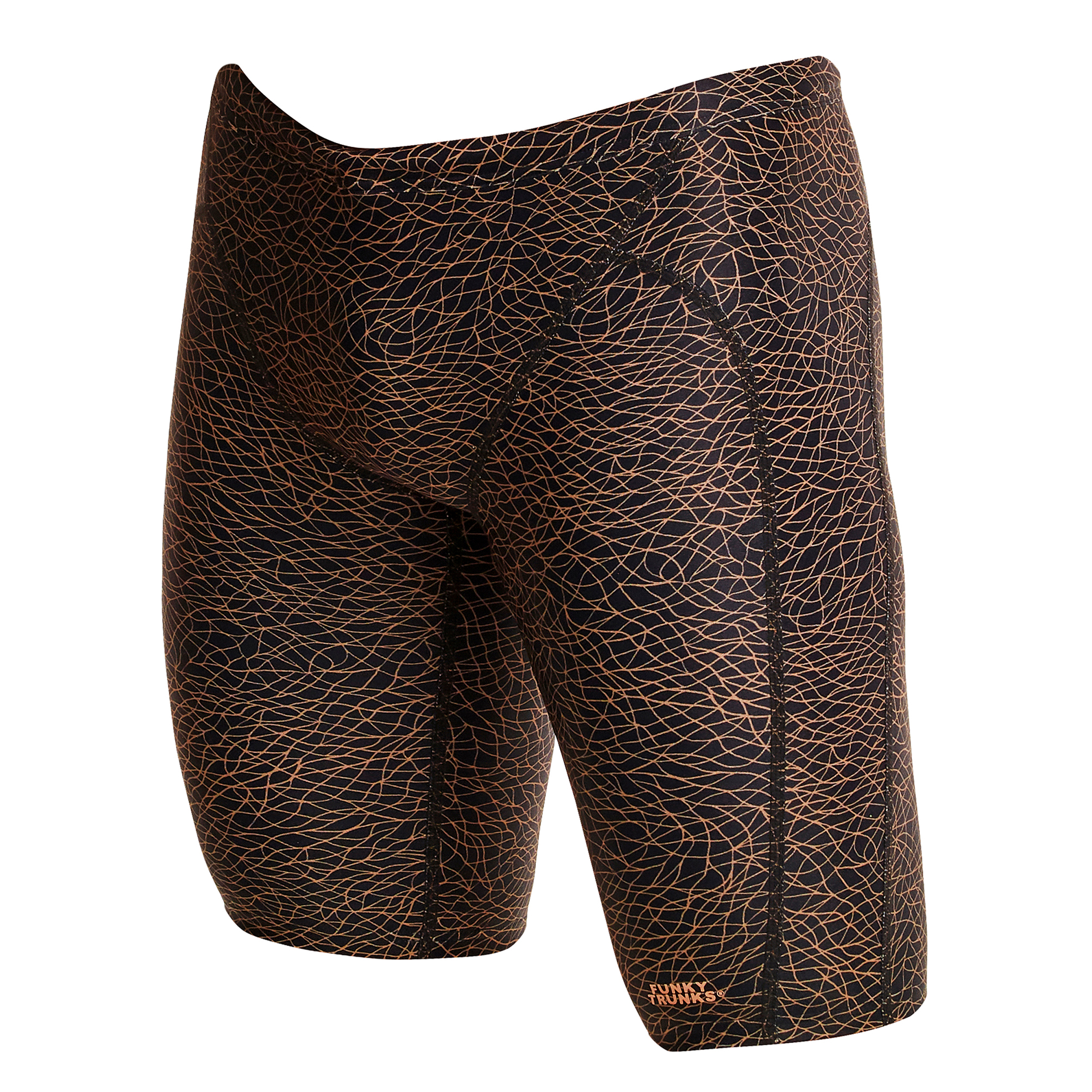 Funky Trunks Mens Leather Skin Training Jammer