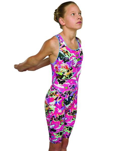 Maru Girls Scribble Pacer Legsuit