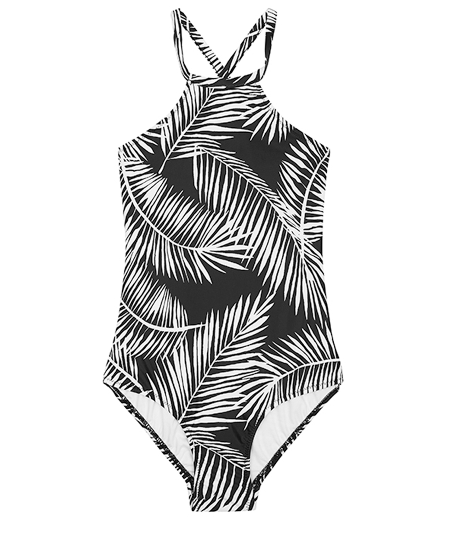 Seafolly Kids Tahitian Skies Palm Tank One Piece