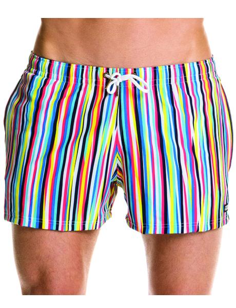 Funky Trunks Mens Ocean Liner Shorty Shorts