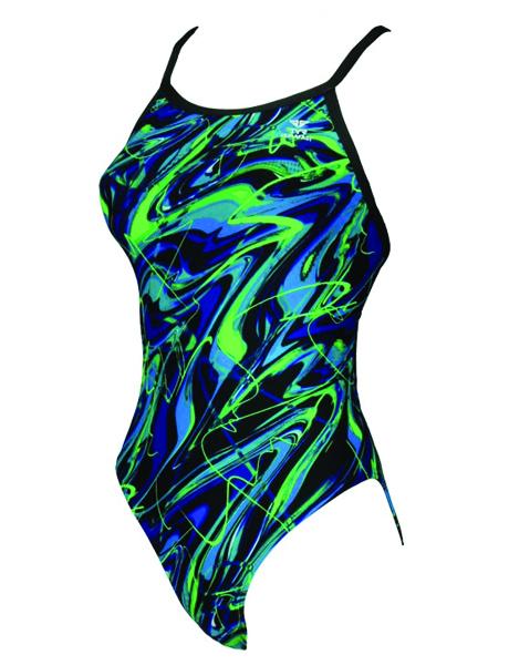 TYR Girls Moxie Diamondfit Swimsuit (size 28-32)