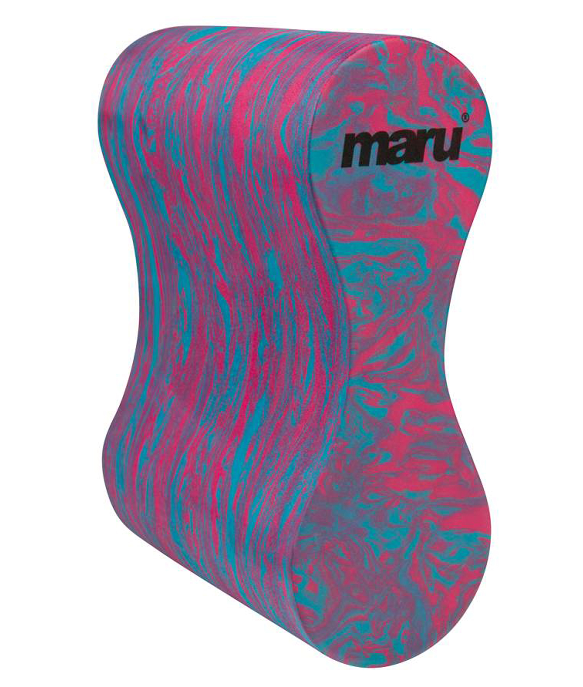 Maru Swirl Pull Buoy - Blue/Pink