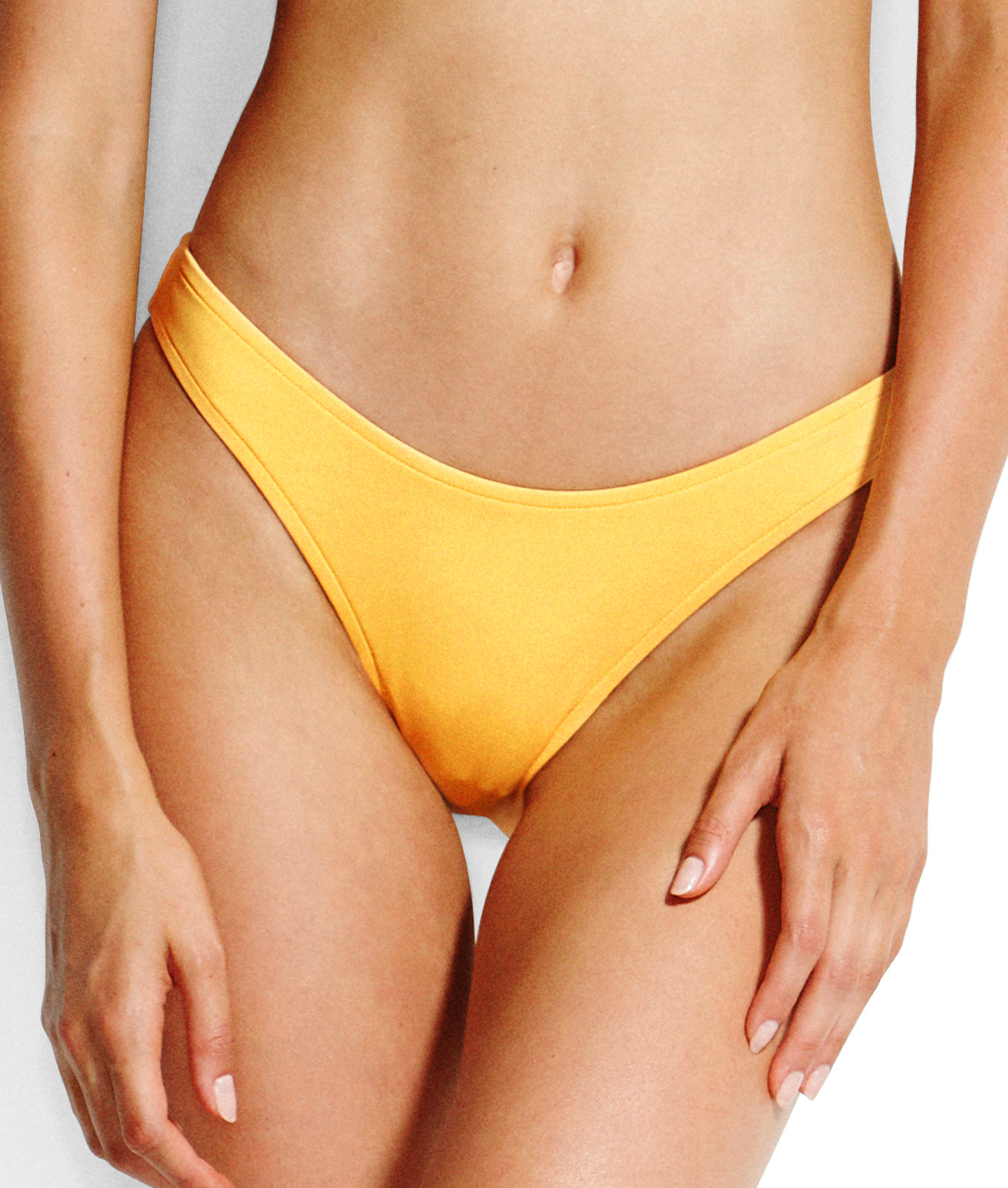 Seafolly Active High Cut Bikini Pant - Buttercup