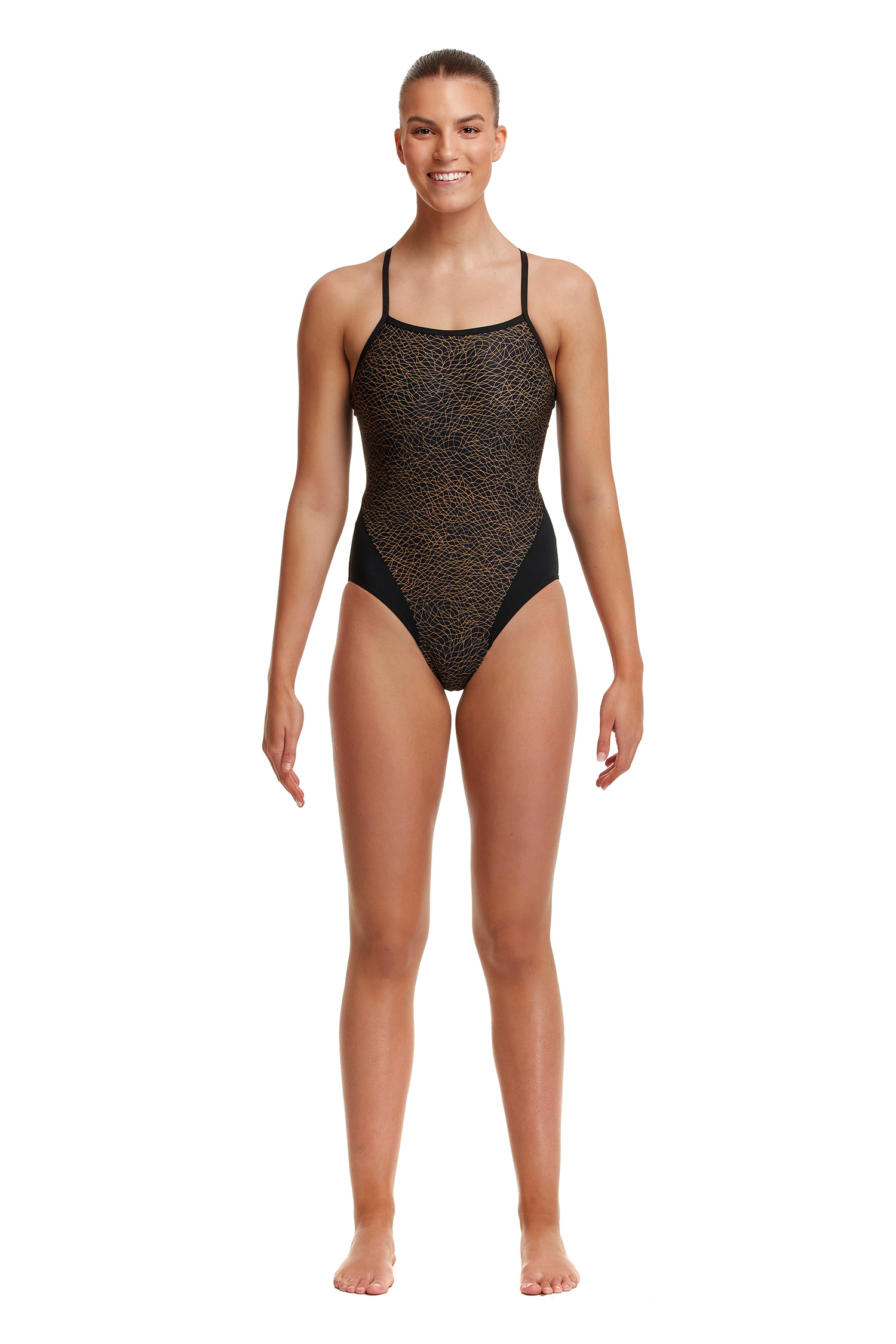 Funkita Ladies Leather Skin Single Strap One Piece