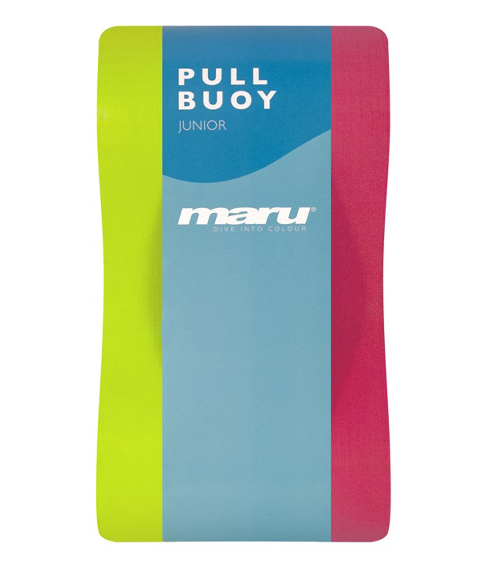 Maru Junior Pull Buoy - Lime/Blue
