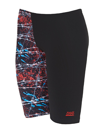 Zoggs Boys Escape Jammer - Black/Multi