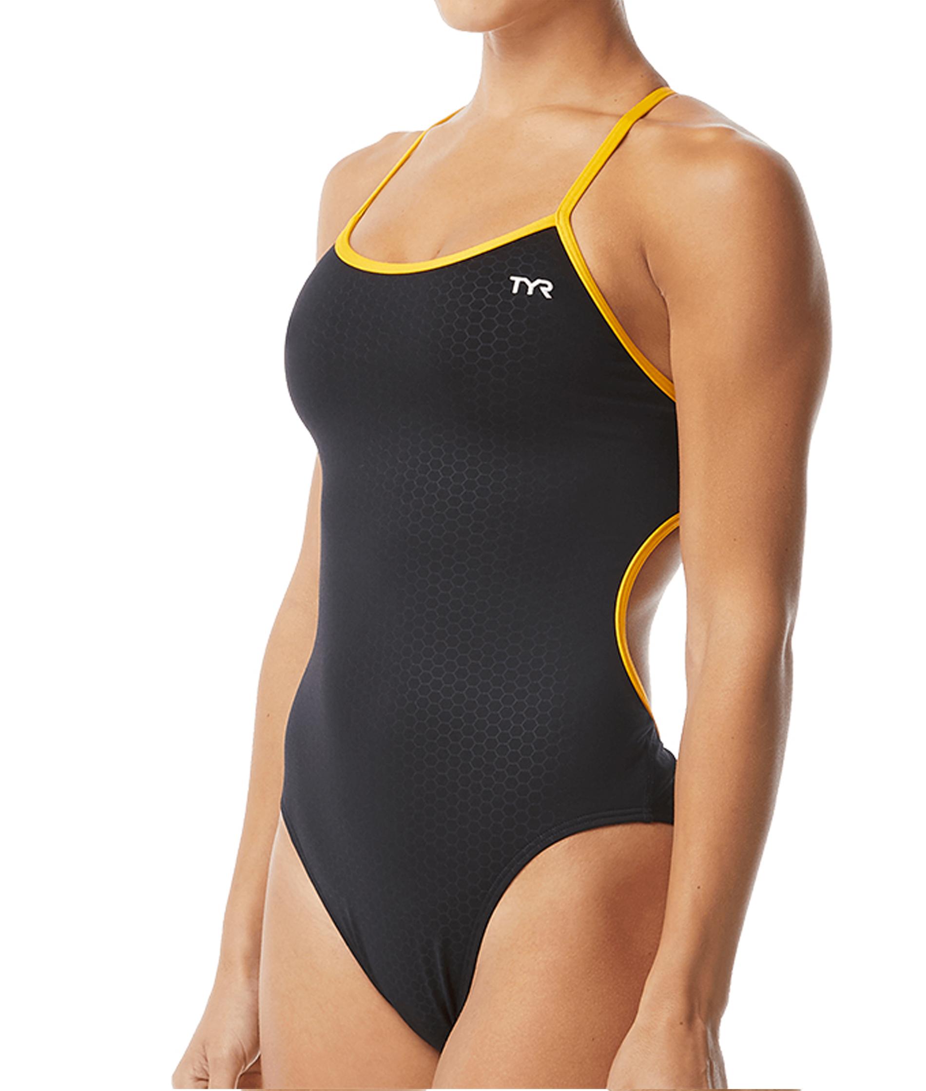 TYR Womens Hexa Trinityfit Swimsuit
