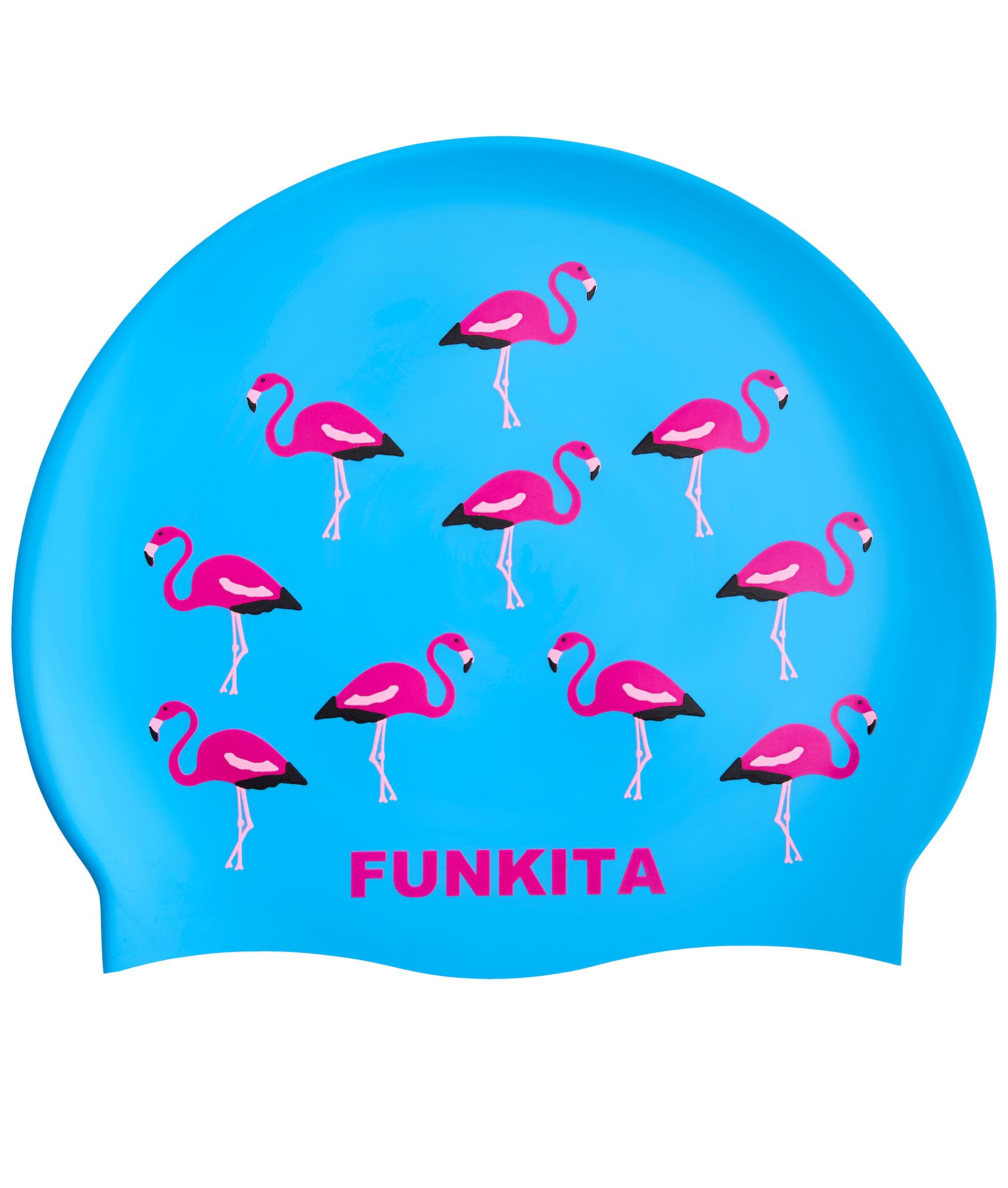 Funkita Go Flamingo Swim Cap