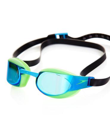 Speedo Fastskin Elite Mirror Goggles (Green Blue)