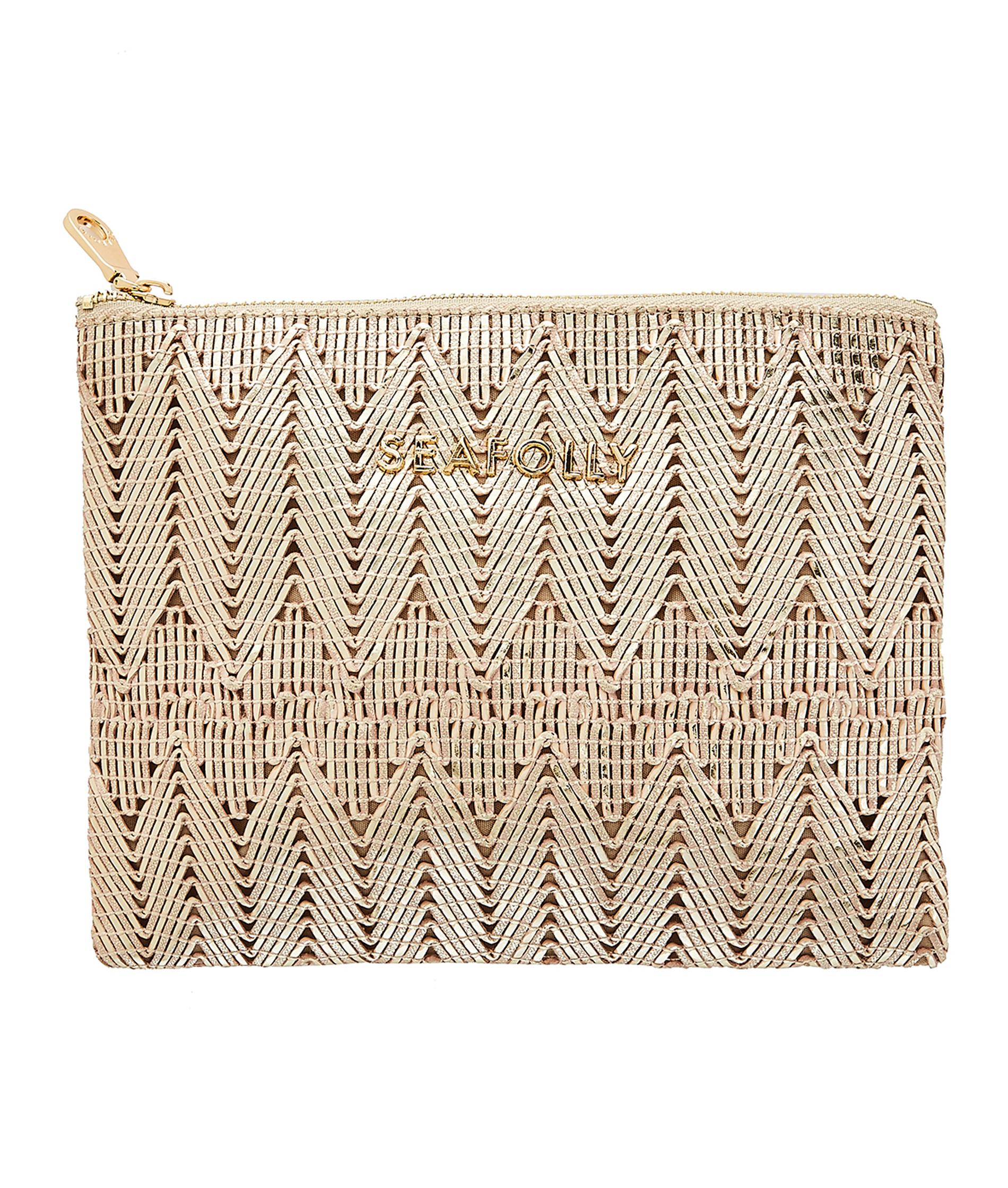 Seafolly Golden Clutch Bag - Gold