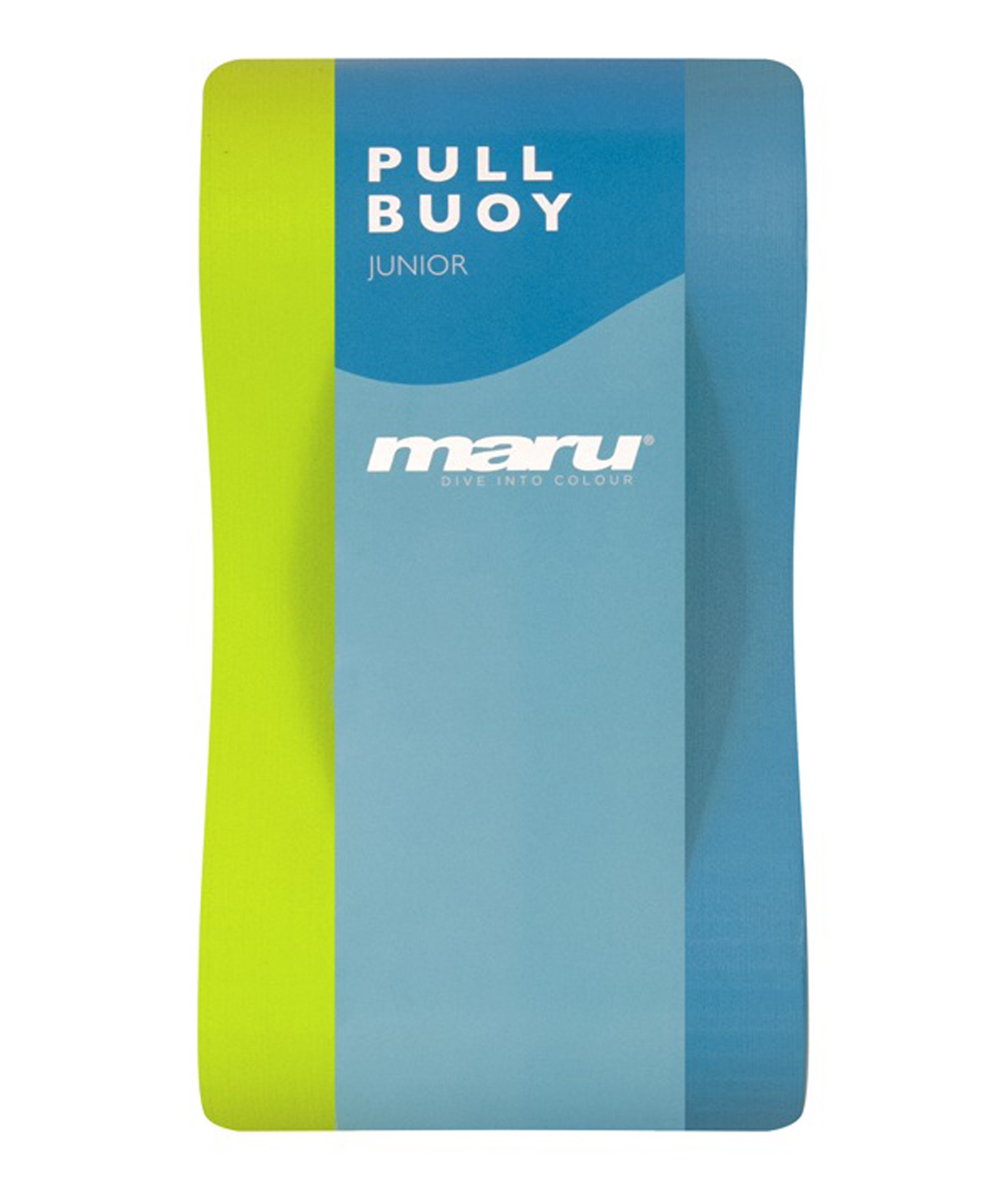 Maru Junior Pull Buoy - Lime/Blue
