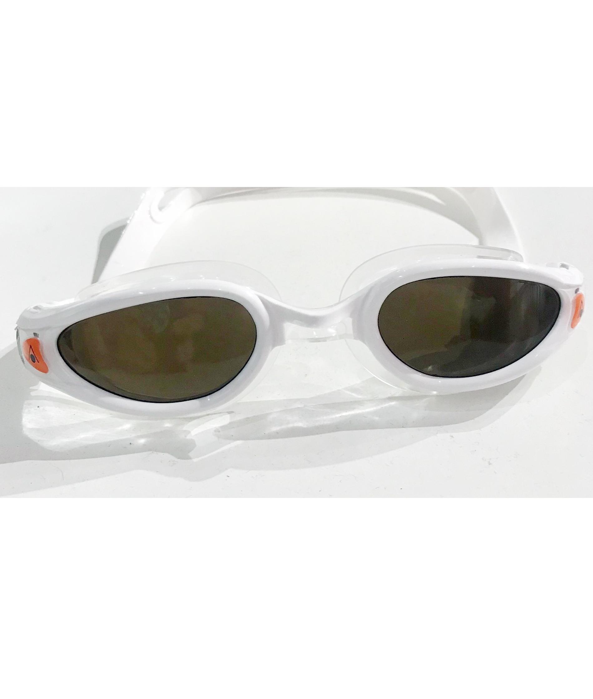 Aqua Sphere KAIMAN Exo Polarized Swimming Goggles - White/Clear