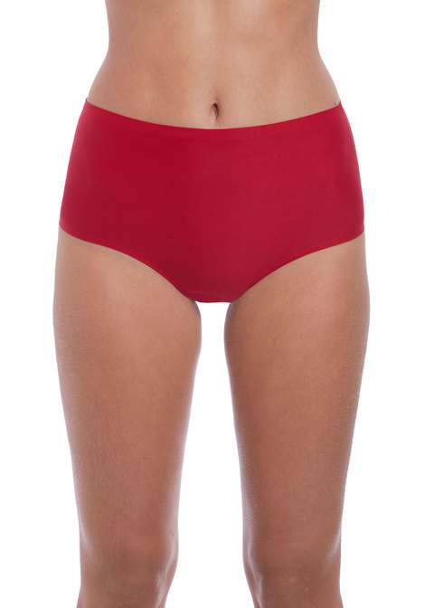 Fantasie Lingere Smoothease Invisible Stretch Full Brief - Red