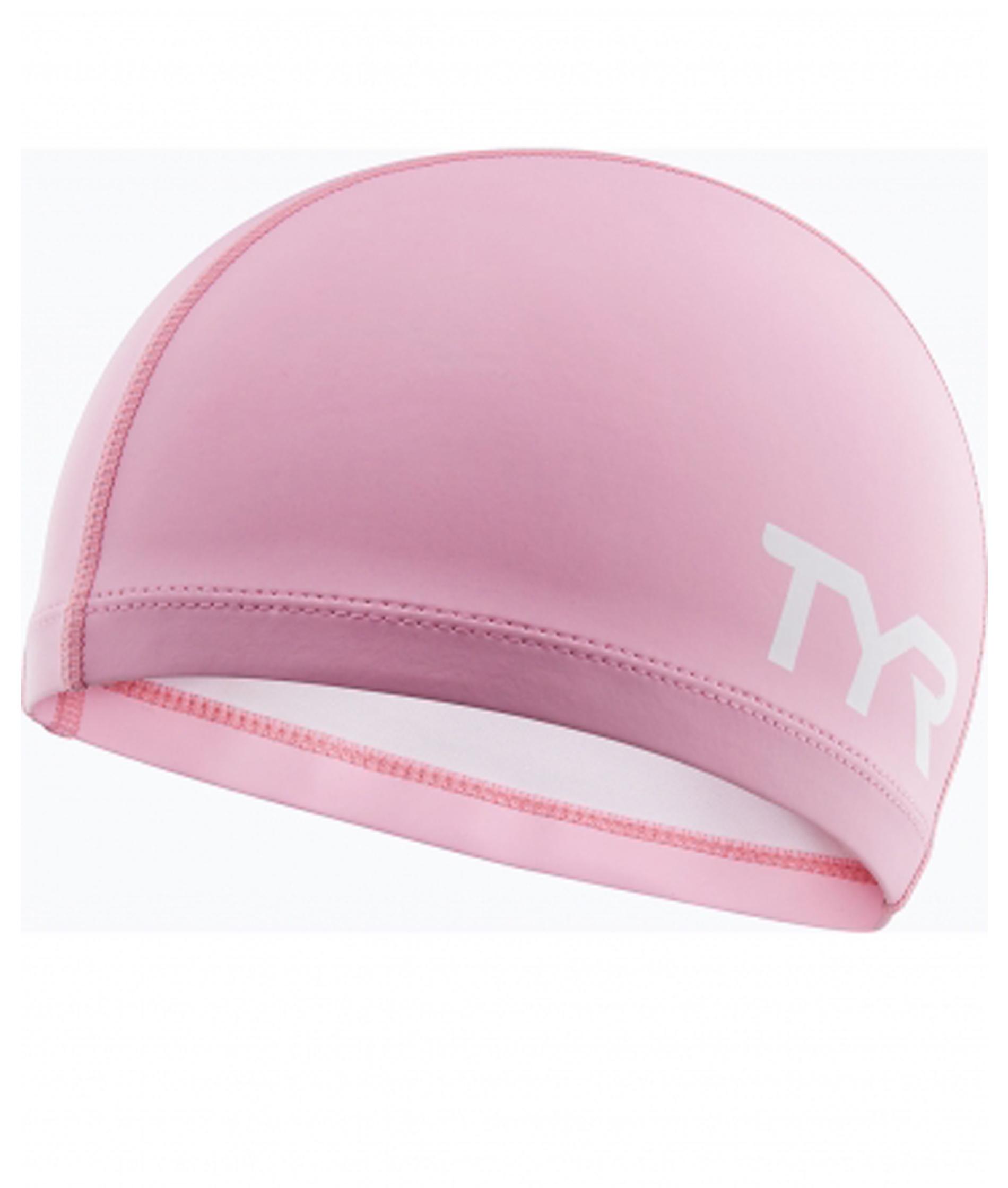 TYR Silicone Comfort Junior Swim Cap - Pink
