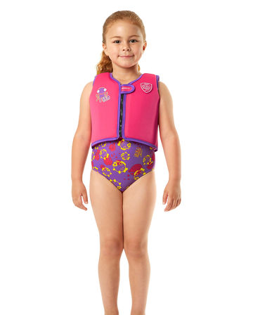 Speedo Sea Squad Float Vest Pink